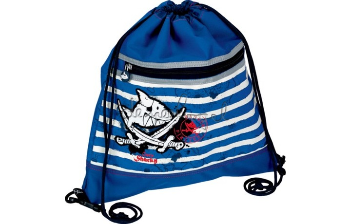 10596 Sportbuidel Capt'n Sharky Zeven Zeeën