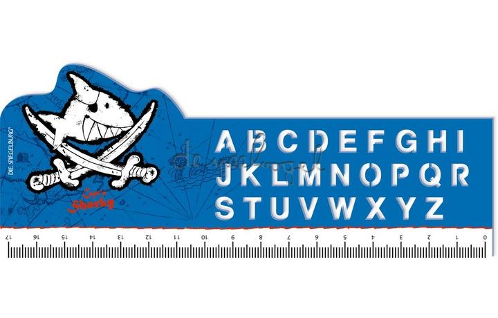 12548 Lineaal ABC Capt'n Sharky