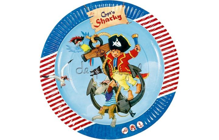 13251 Partyborden Capt'n Sharky