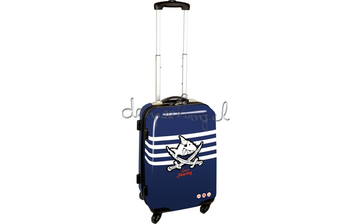 13376 Hardcase trolley Capt'n Sharky