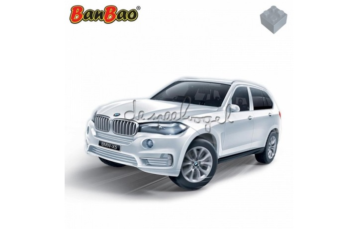 68032 Banbao BMW X5 white (98 pcs)