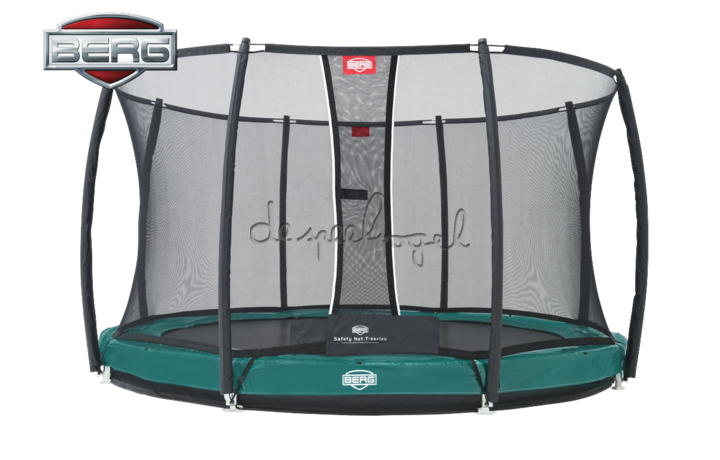BERG Elite+ - InGround + Safety Net 330/380/430 /Op bestelling