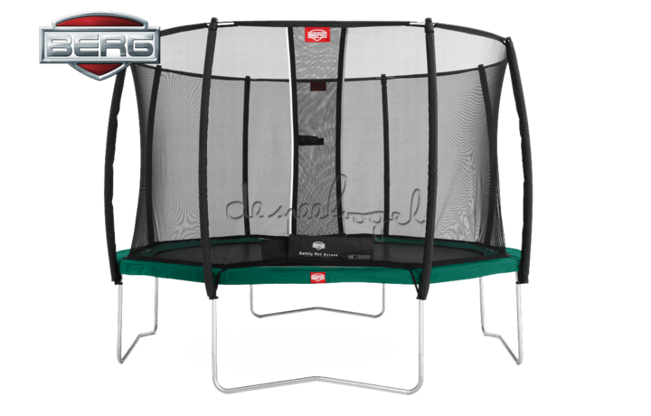 BERG Favorit - Regular groen/grijs + Safety Net 270/330/380/430 /Op bestelling