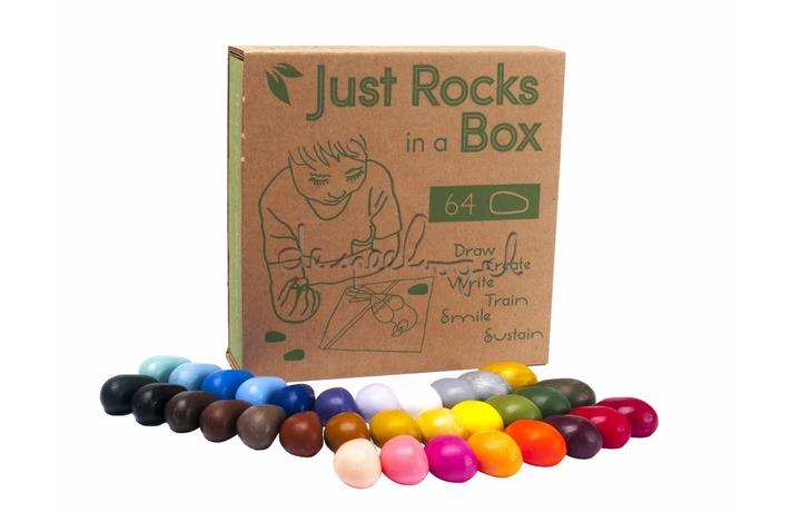Crayon rocks 64 in a box, 32 kleuren