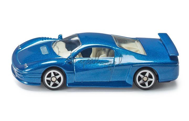 875 SIKUSTORM blauwe racewagen