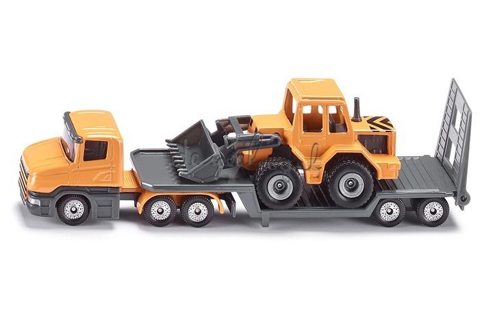 1616 Dieplader met bulldozer