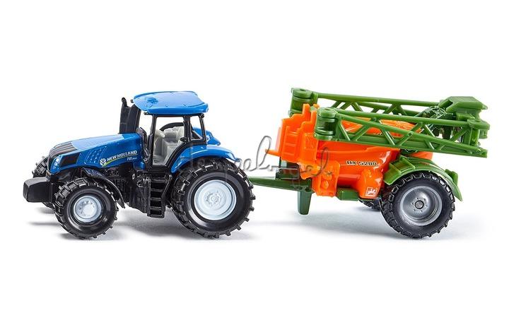 1668 Tractor met sproeier