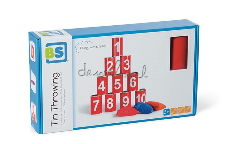GA093 Tinnen werpspel (rood)