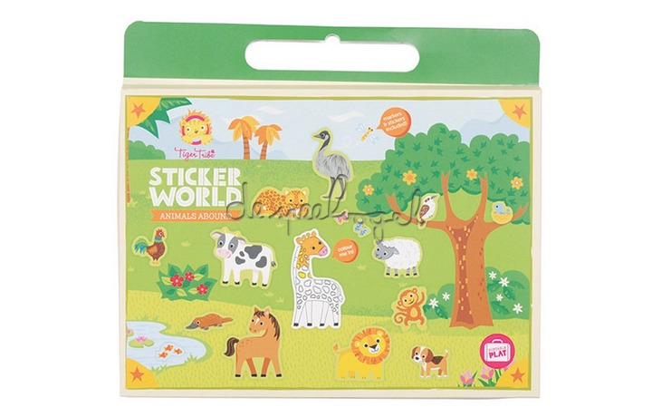 3760223 Sticker World Animals Abound
