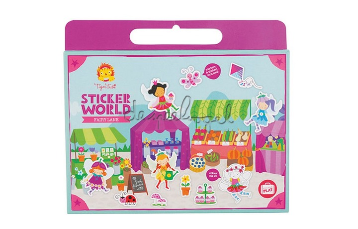 3760224 Sticker World Fairy Lane