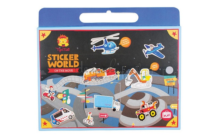 3760225 Sticker World On the Move