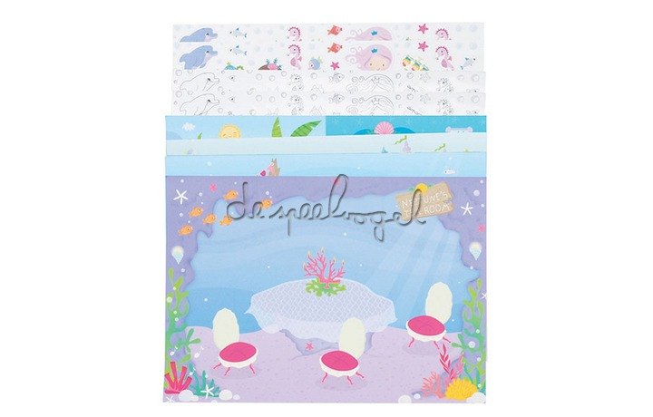 3760226 Sticker World Mermaid