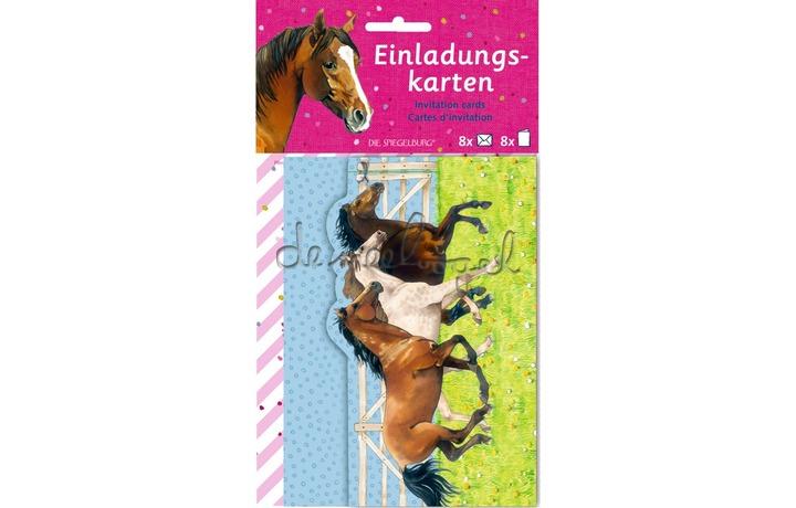 12963 Uitnodigingskaarten Paardenvrienden