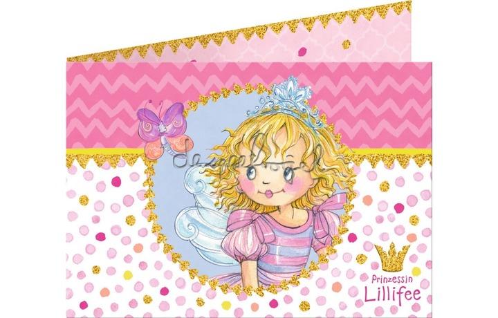 13630 Uitnodigingskaarten Lillifee