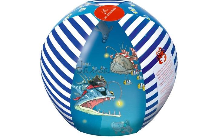 13825 Beachball set Capt'n Sharky