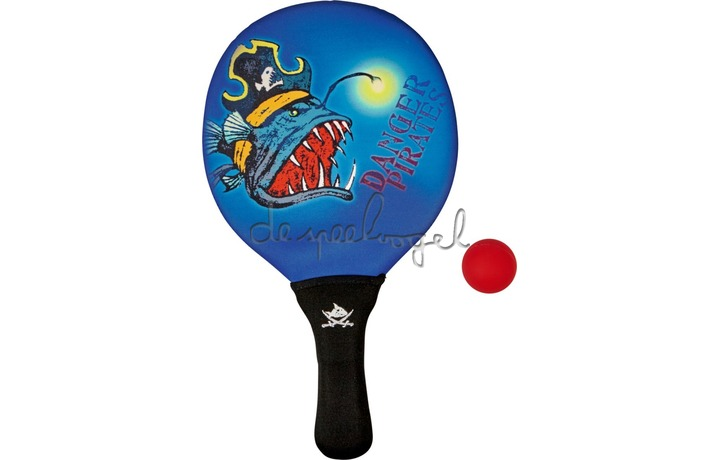 13901 Beachball-set Capt'n Sharky
