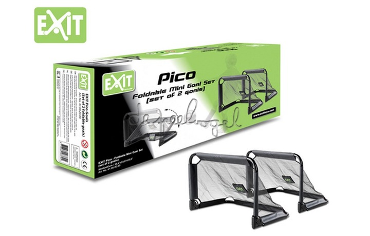 EXIT Voetbal Pico Goal (set 2 opvouwbare goals)