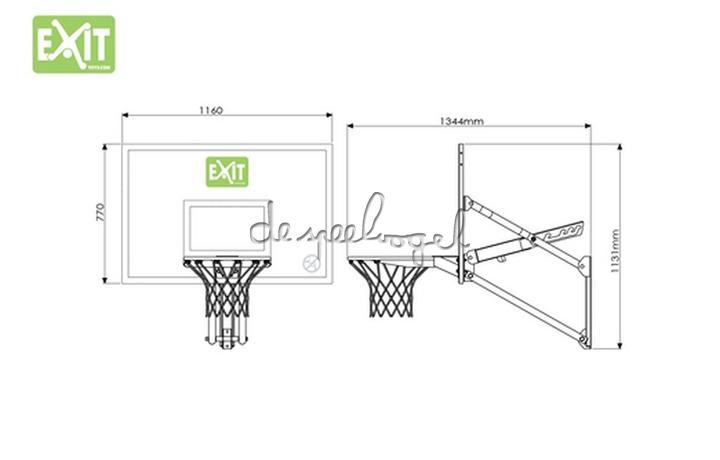 EXIT Basket Galaxy Wall-mount System /op bestelling