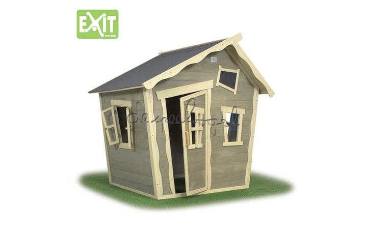 EXIT Houten Speelhuisje Crooky 100 (FSC 100%) /op bestelling