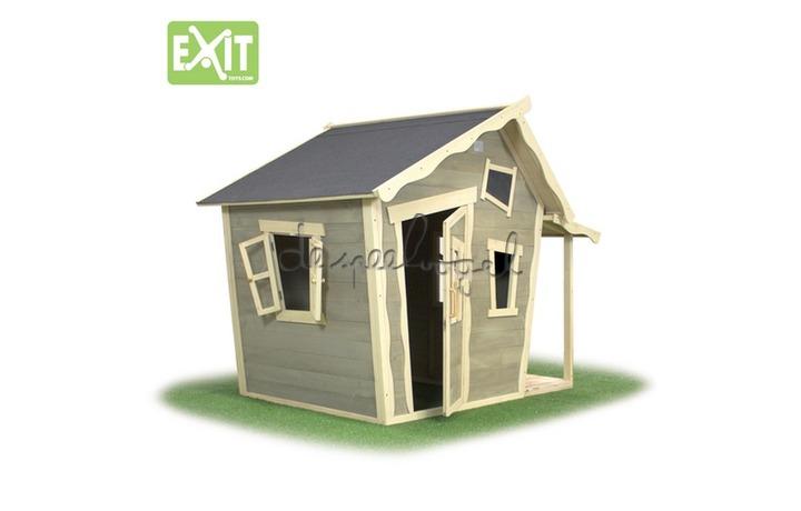 EXIT Houten Speelhuisje Crooky 150 (FSC 100%) /op bestelling