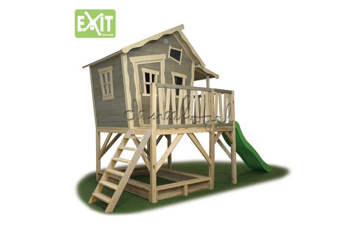 EXIT Houten Speelhuisje Crooky 550 (FSC 100%) /op bestelling