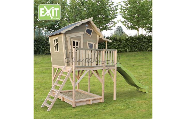 EXIT Houten Speelhuisje Crooky 750 (FSC 100%) /op bestelling