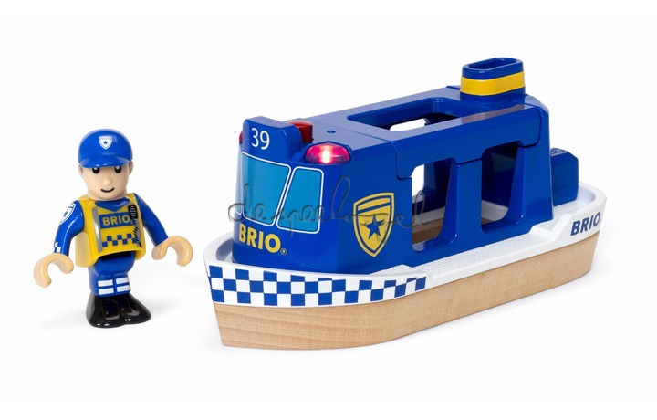 33820 Politie boot, light & sound