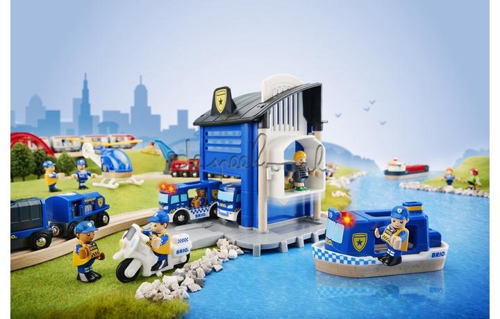 33812 Politie goud Transport set, Nettoprijs