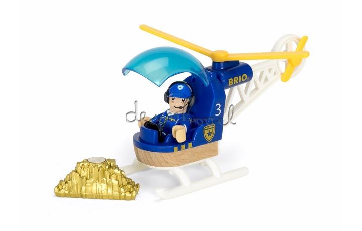 33828 Politie Helicopter met goud