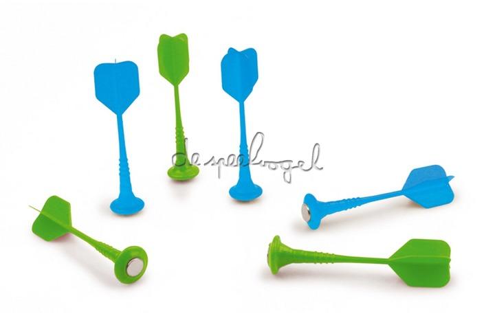 6182101 Scratch Darts Blauw/Groen, Set  6 Stuks