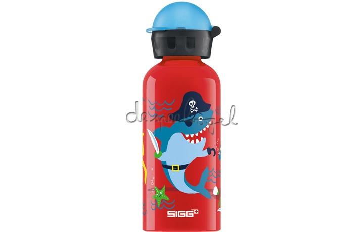 6586247 Sigg 0.4L Kids: Piraten Onderwater, Rood