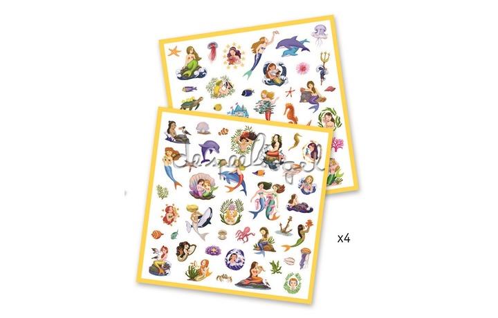 DJ08885 Stickers Zeemeerminnen