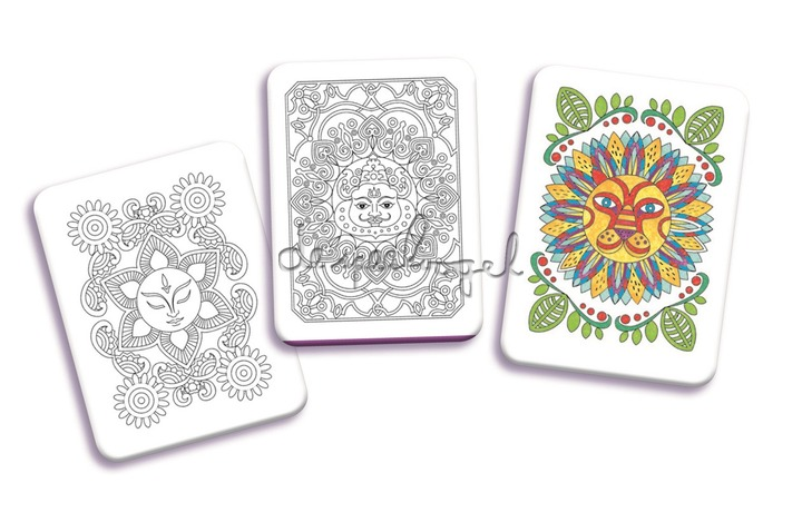 DJ05383 Mini graffic Coloriages mandalas
