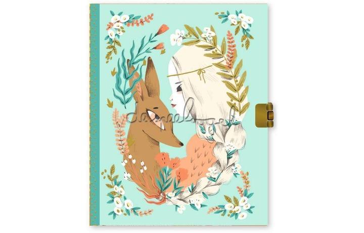 DD03610 Lovely Paper - Dagboek met slot Lucille
