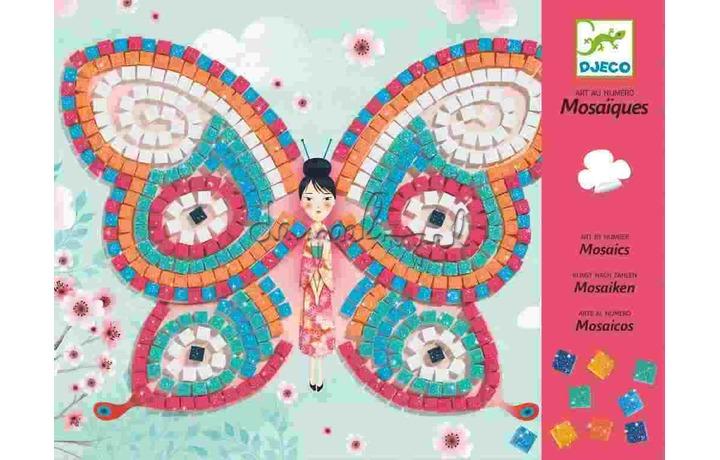 DJ08898 Mozaïek, Papillons