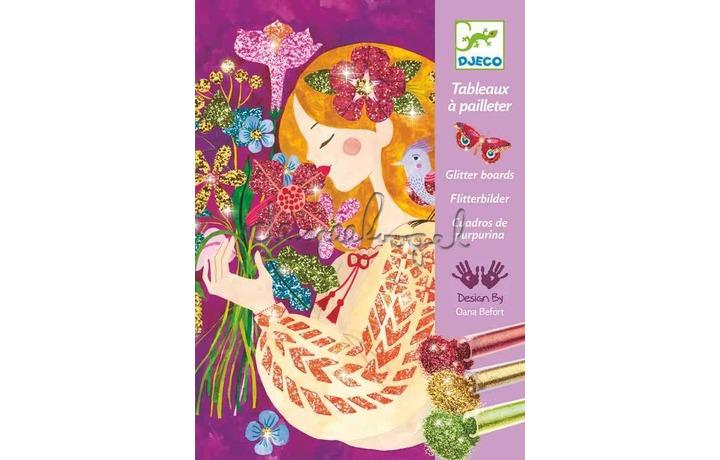 DJ09508 Glitterzand - Le parfum des fleurs