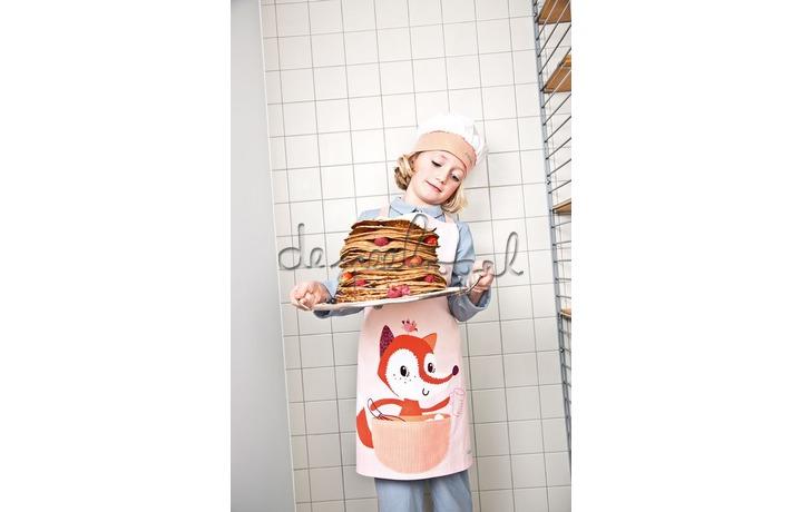 81104 Keukenschort en koksmuts  Alice