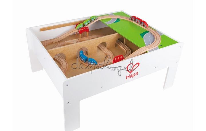 Speeltafel Met Opbergruimte.E3714 Speeltafel Van Het Merk Hape Bij De Speelvogel