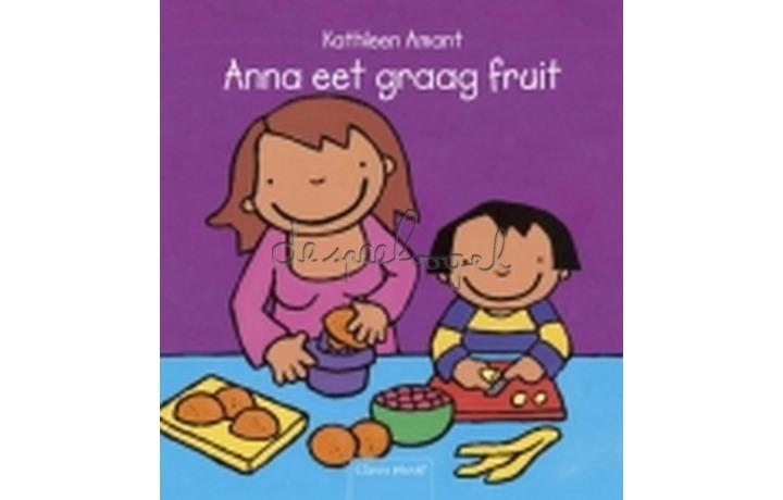 Anna eet graag fruit/ Amant