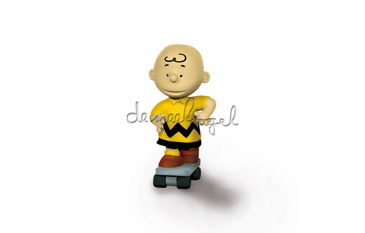 22076 Charlie Brown Skateboarder