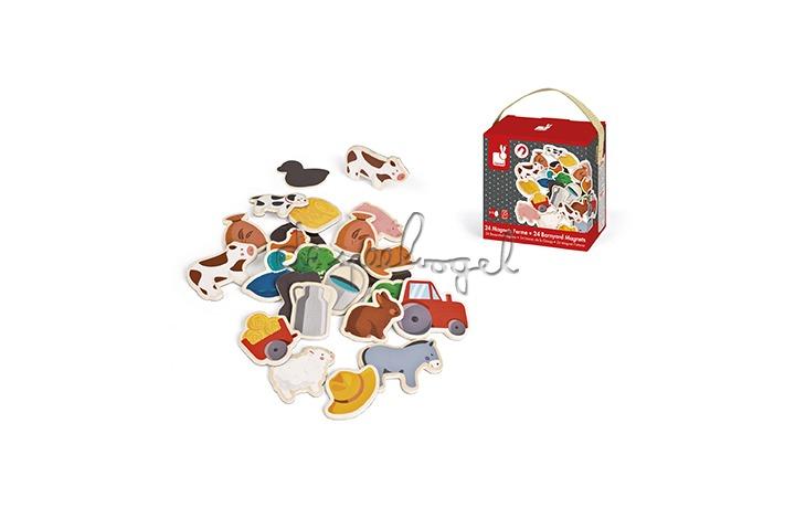 J08157 Magneten boerderij 24st