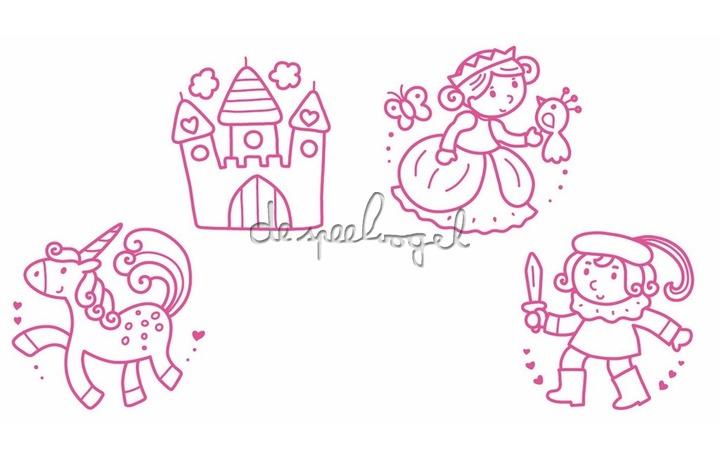 3809 babystempels prinsessen