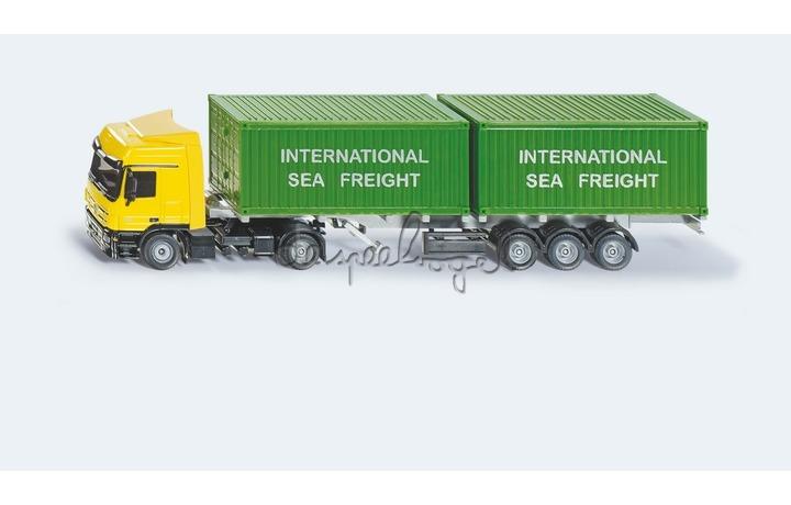 3921 Vrachtwagen met containers
