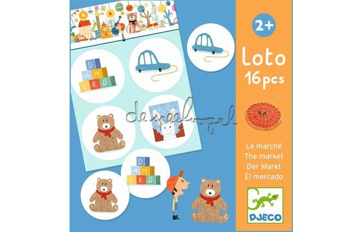 DJ08125 Loto du marché