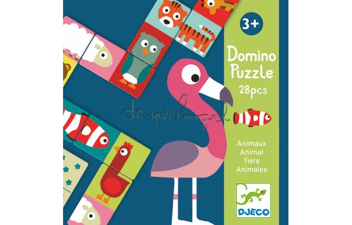 DJ08165 Domino animo-puzzle