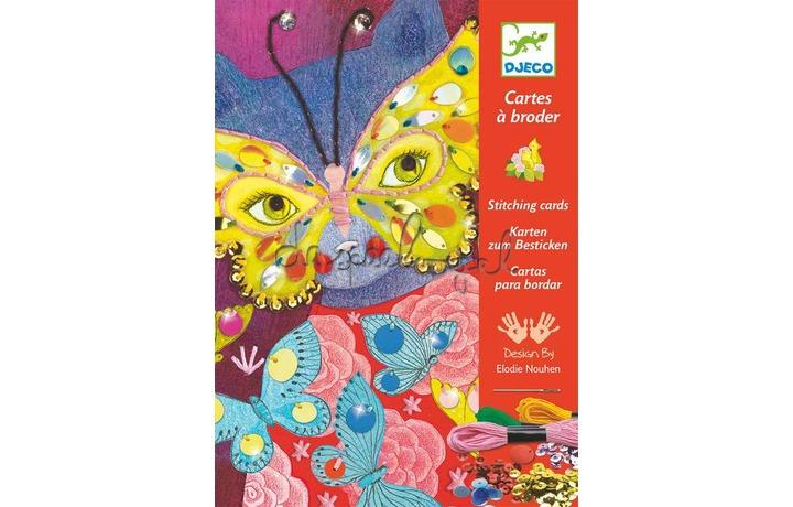 DJ08669 Elégant carnaval, borduurkaarten
