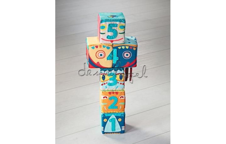 83029 Set van 6 totemblokken