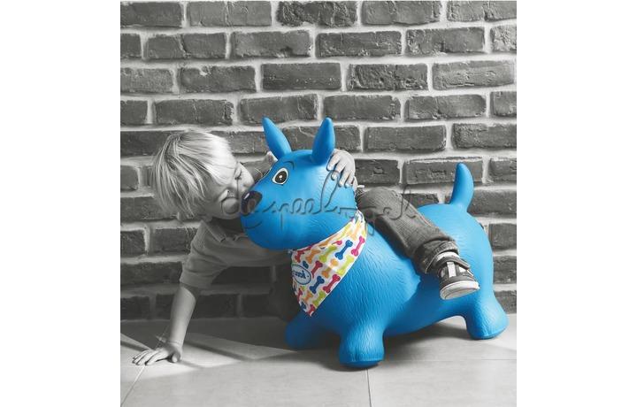 2776 Springhond blauw (pomp incl)