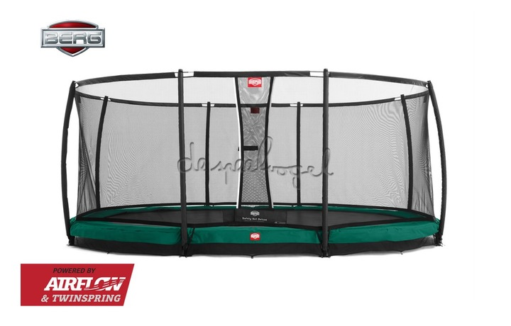 BERG Grand Champion (ovale vorm) 350/470/520 - InGround + Safety Net /Op bestelling