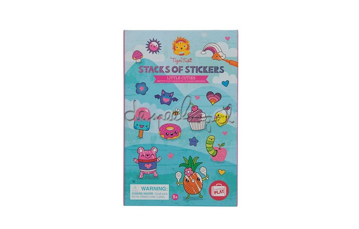 60244 Stacks of Stickers / Little Cuties